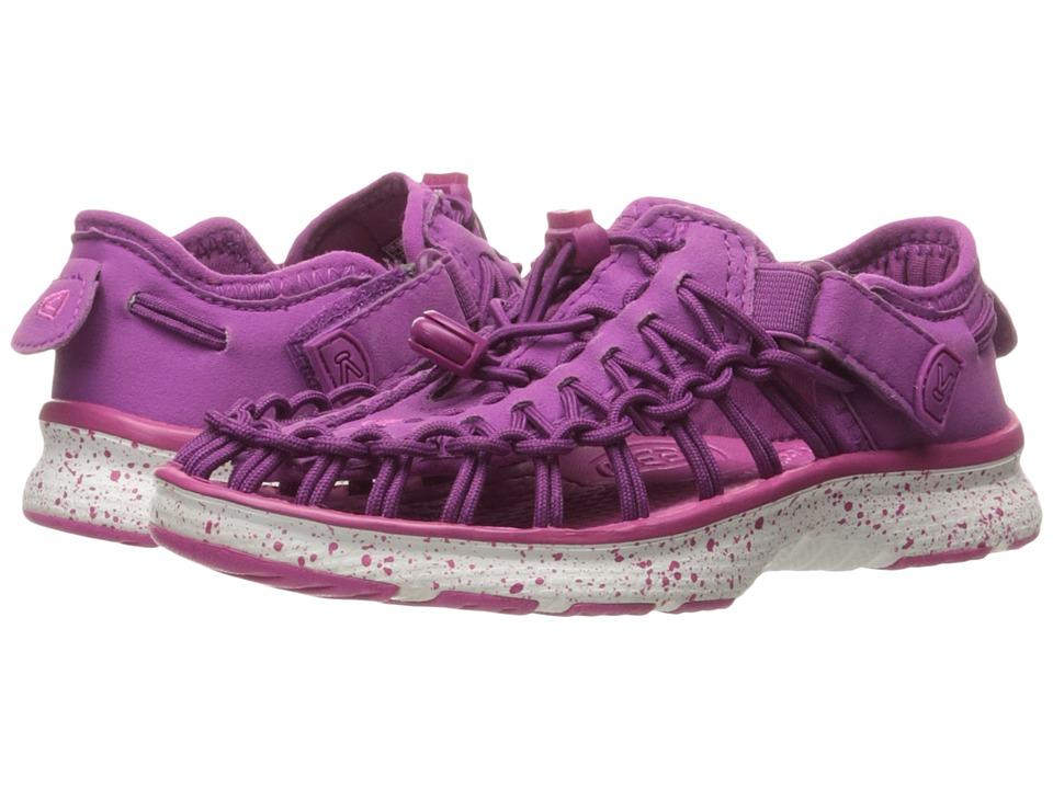 Keen Kids - Uneek O2 (Toddler/Little Kid) (Purple Wine/Verry Berry) Girl's Shoes