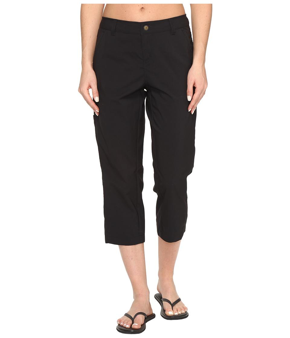 Royal Robbins Discovery Capri Pants (Jet Black) Women