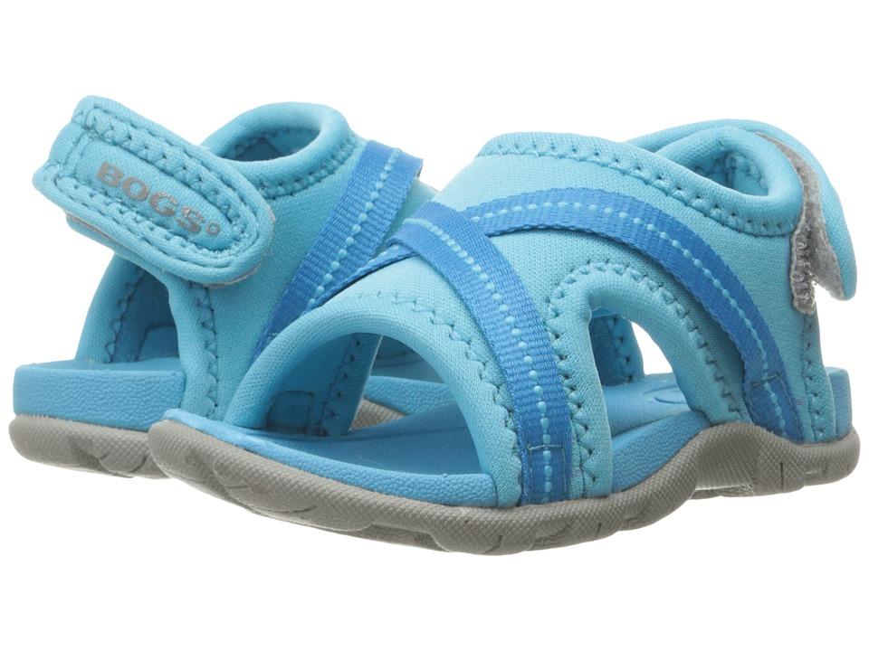 Bogs Kids - Bluefish (Toddler) (Light Blue Multi) Kids Shoes