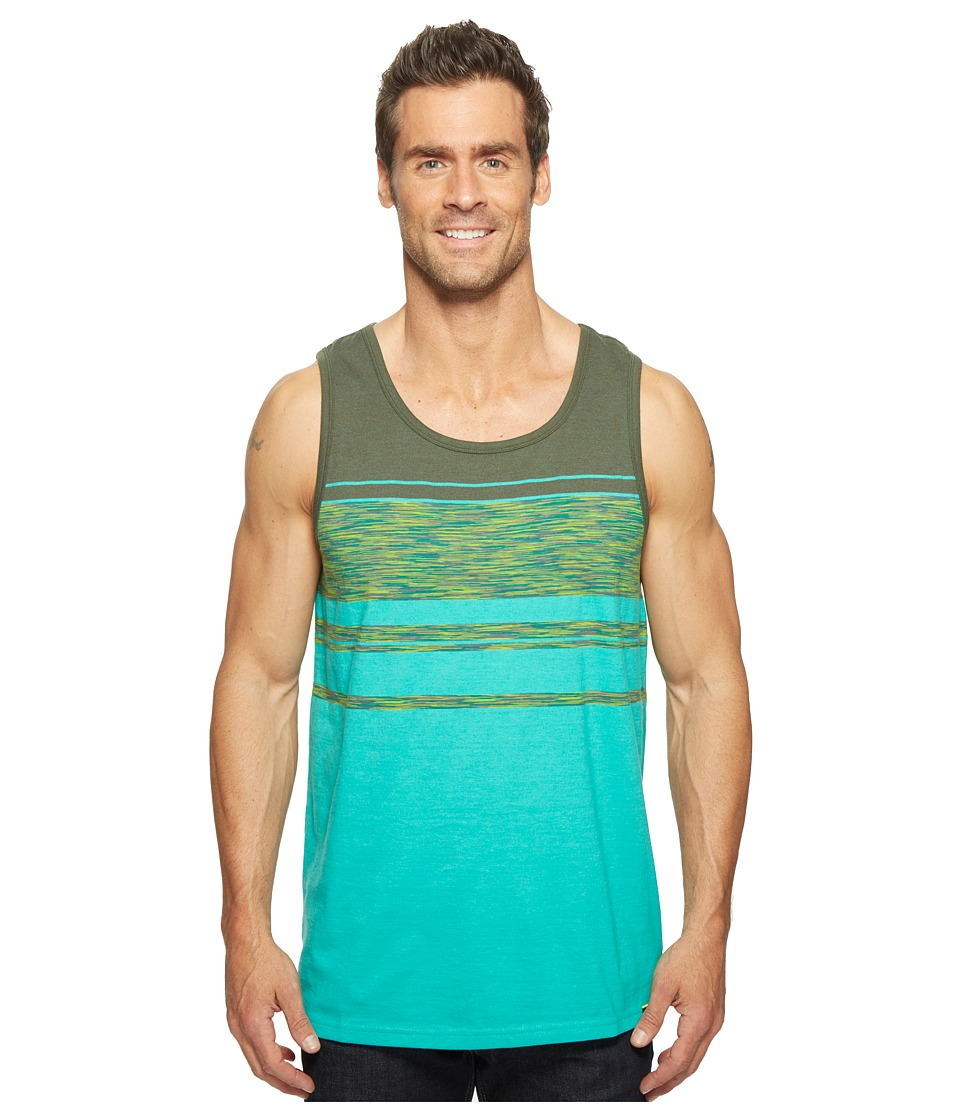 Prana - Throttle Tank Top (Emerald Waters) Men's Sleeveless