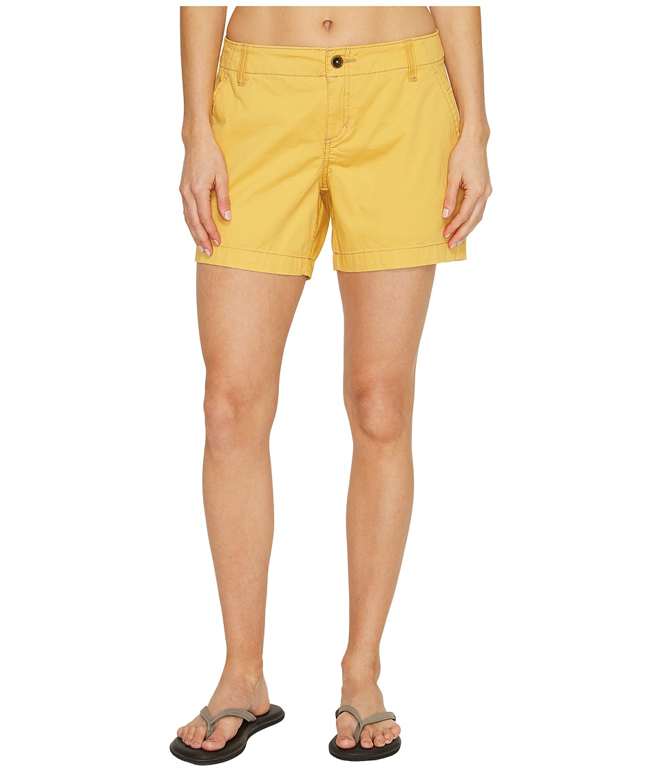 Royal Robbins - Ventura Shorts (Ochre) Women's Shorts