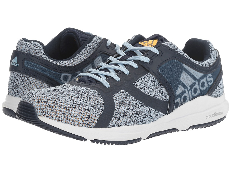adidas - CrazyTrain CF (Collegiate Navy/Tactile Blue/Solar Gold) Women's Cross Training Shoes