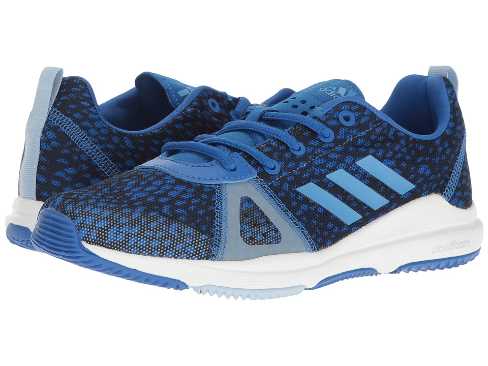 adidas - Arianna Cloudfoam (Blue/Tech Blue Metallic/Easy Blue) Women's Cross Training Shoes