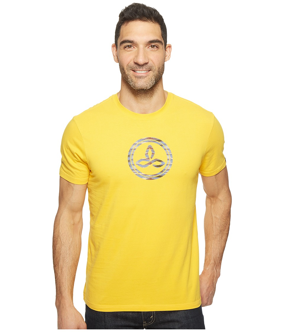 Prana - prAna(r) Classic T-Shirt (Amber) Men's Clothing