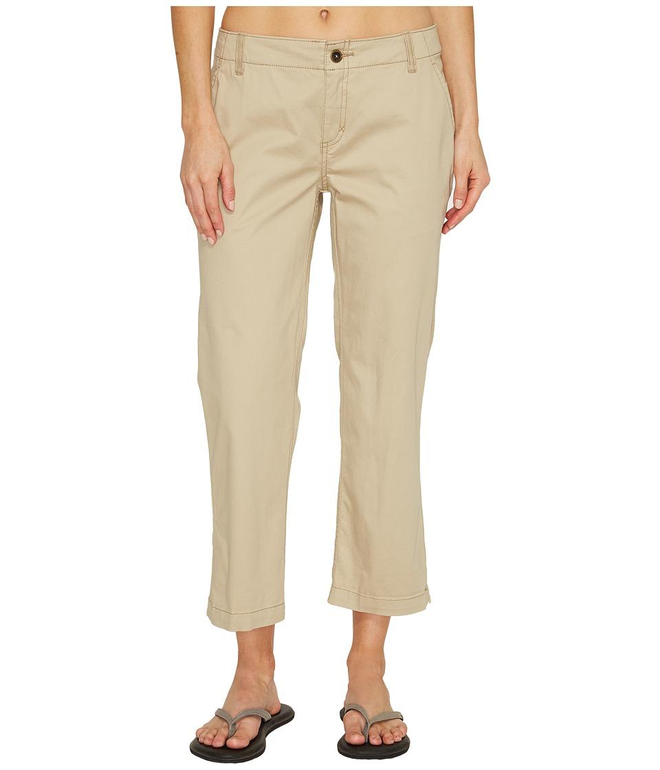 Royal Robbins Ventura Capri Pants (Light Khaki) Women