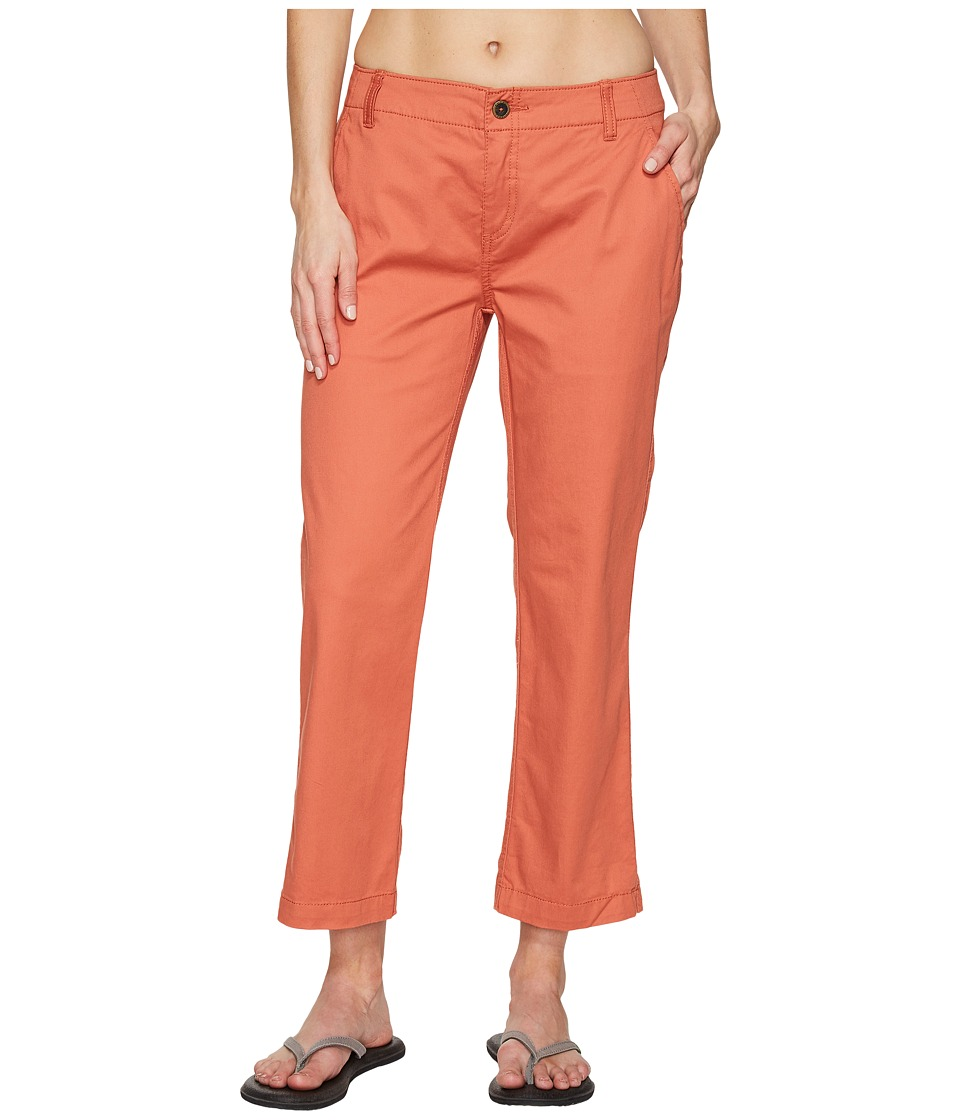 Royal Robbins Ventura Capri Pants (Calabash) Women