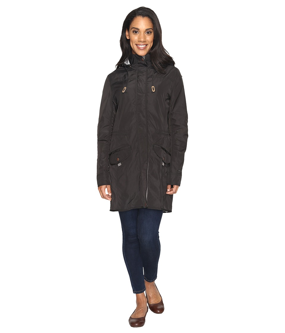 Royal Robbins - Gail's Force Trench Coat (Jet Black) Women's Coat