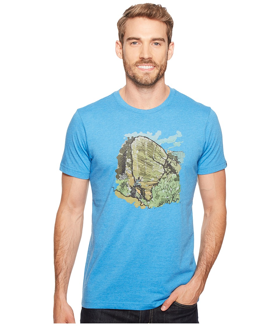 Prana - Redlands Slim (Vortex Blue) Men's T Shirt
