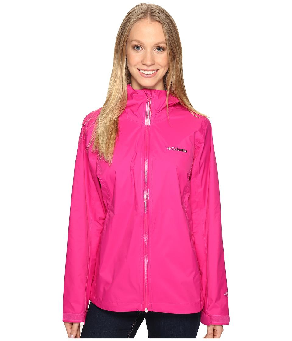 Columbia - EvaPOURationtm Jacket (Haute Pink) Women's Coat