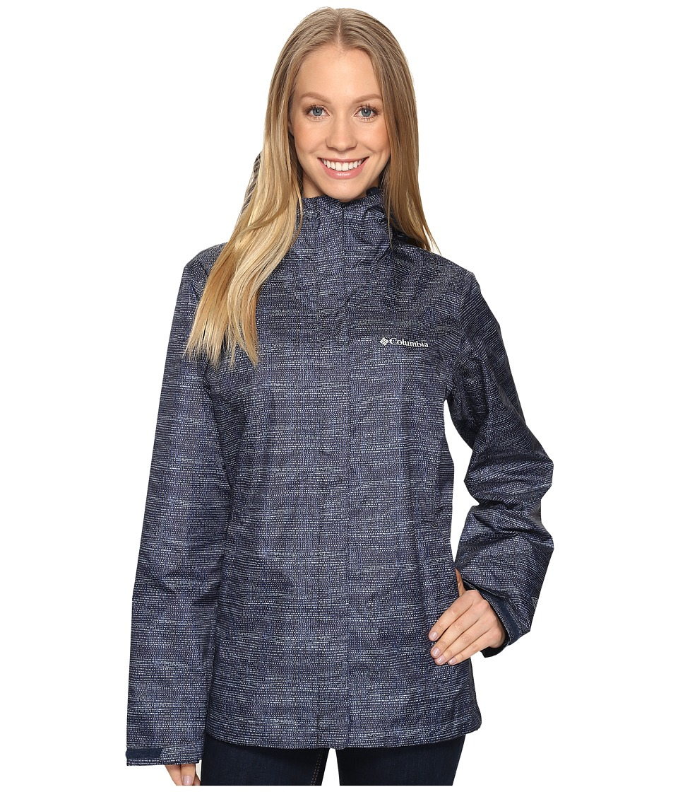 Columbia - Arcadiatm Print Jacket (India Ink Dotty Dye) Women's Coat