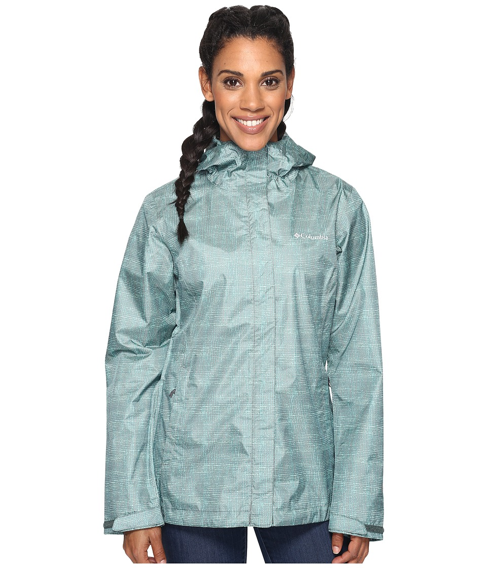 Columbia - Arcadiatm Print Jacket (Pond Dotty Dye) Women's Coat