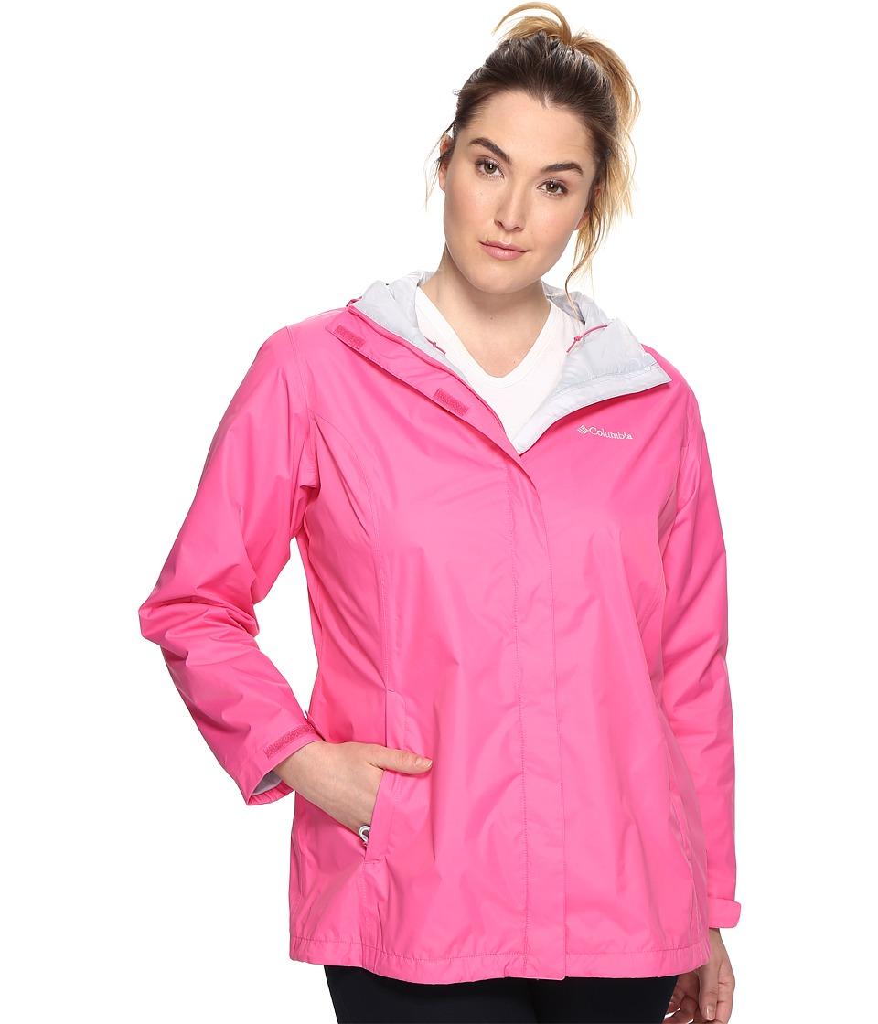 Columbia Plus Size Arcadia IItm Jacket (Wild Geranium) Women