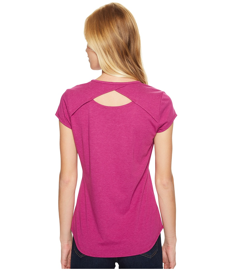 Royal Robbins - Wick-ed Cool Short Sleeve Shirt (Aster) Women's T Shirt