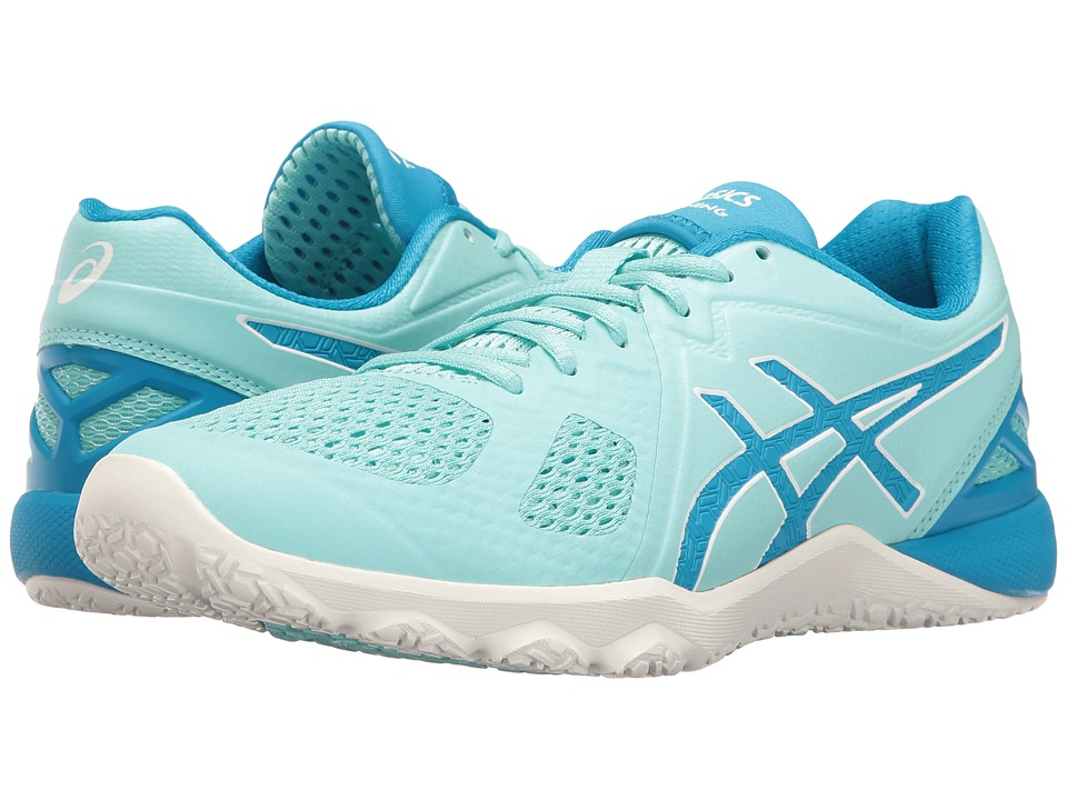 ASICS - Conviction X (Aqua Splash/Diva Blue/White) Women's Cross Training Shoes