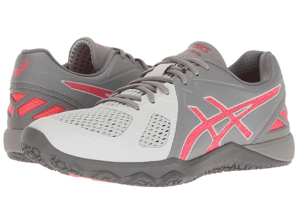 ASICS - Conviction X (Aluminum/Diva Pink/Glacier Pink) Women's Cross Training Shoes