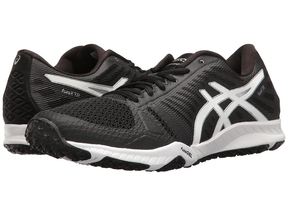 ASICS - FuzeX TR (Black/White/Silver) Women's Cross Training Shoes