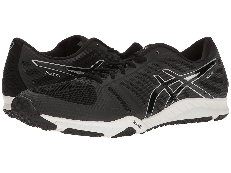 ASICS - FuzeX TR (Black/Onyx/Silver) Men's Cross Training Shoes