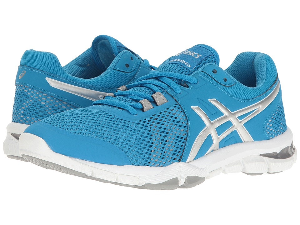 ASICS - Gel-Craze TR 4 (Diva Blue/Silver/White) Women's Cross Training Shoes
