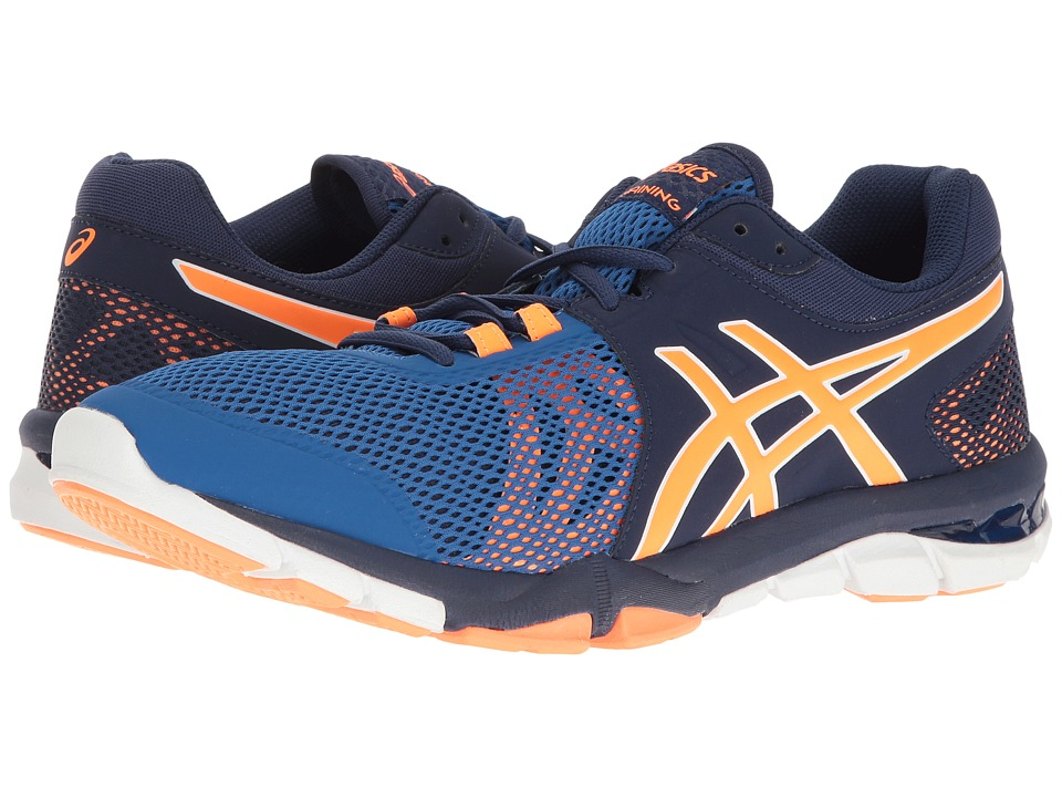 ASICS - Gel-Craze TR 4 (Indigo Blue/Hot Orange/Imperial) Men's Cross Training Shoes