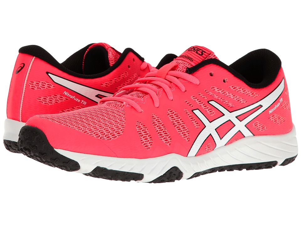 ASICS - Gel-Nitrofuze TR (Diva Pink/White/Black) Women's Cross Training Shoes