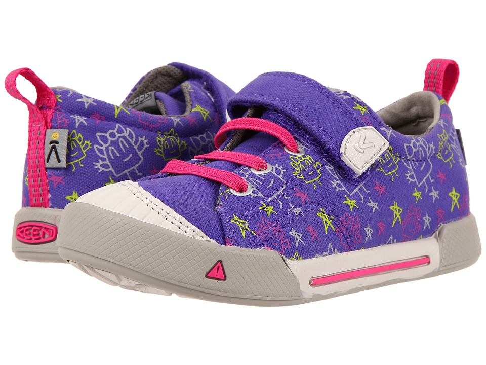Keen Kids - Encanto Finely Low (Toddler/Little Kid) (Liberty Monsters) Girl's Shoes