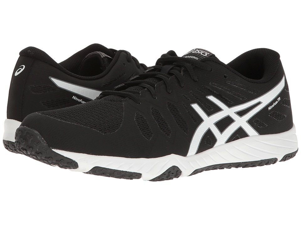 ASICS - Gel-Nitrofuze TR (Black/White/White) Men's Cross Training Shoes