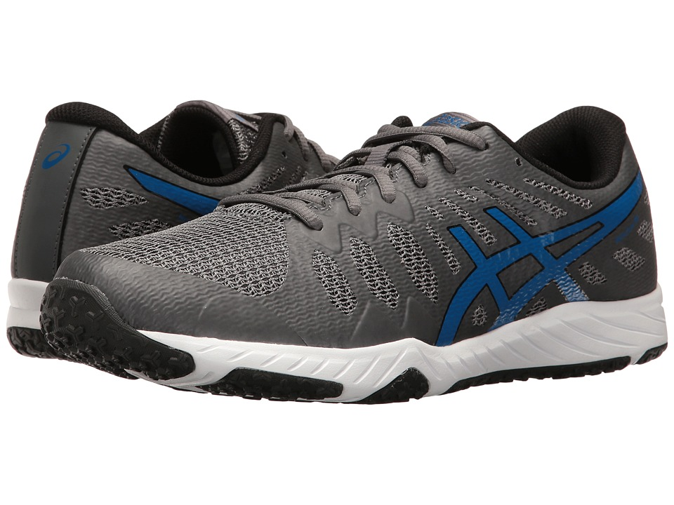 ASICS - Gel-Nitrofuze TR (Carbon/Imperial/Black) Men's Cross Training Shoes