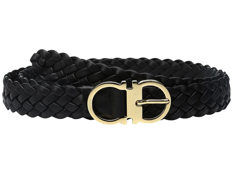 Salvatore Ferragamo - 23B405 Belt (Nero) Women's Belts
