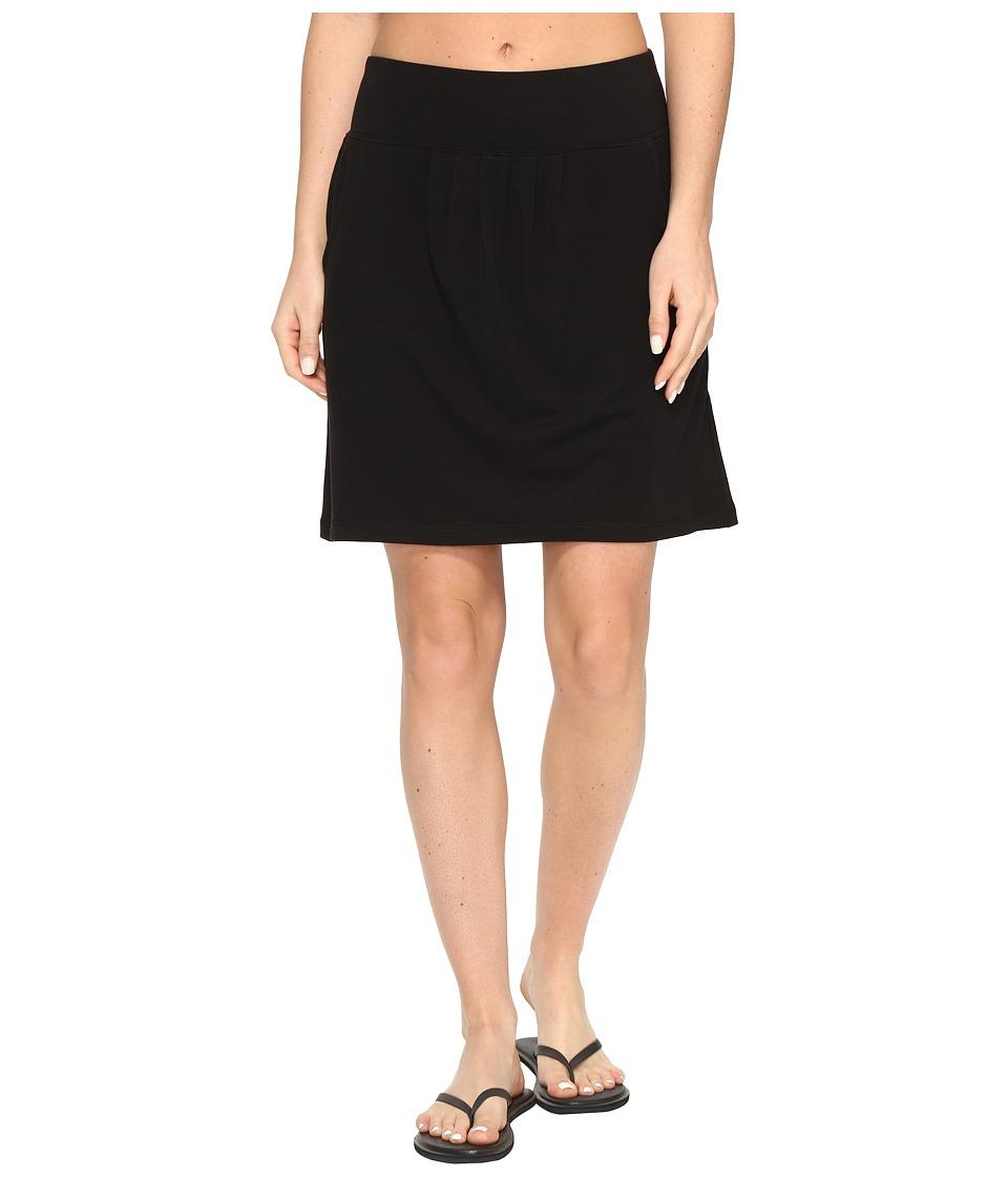 Royal Robbins Essential Tencel(r) Pocket Skirt (Jet Black) Women