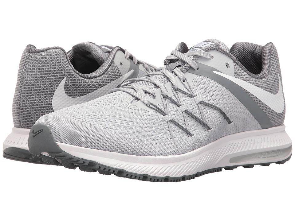 the best attitude 70644 55656 Nike - Zoom Winflo 3 (Wolf Grey White Cool Grey White) SKU   8662189 ...