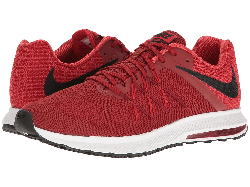 Nike - Zoom Winflo 3 (Dark Cayenne/Black/University Red) Men's Running Shoes