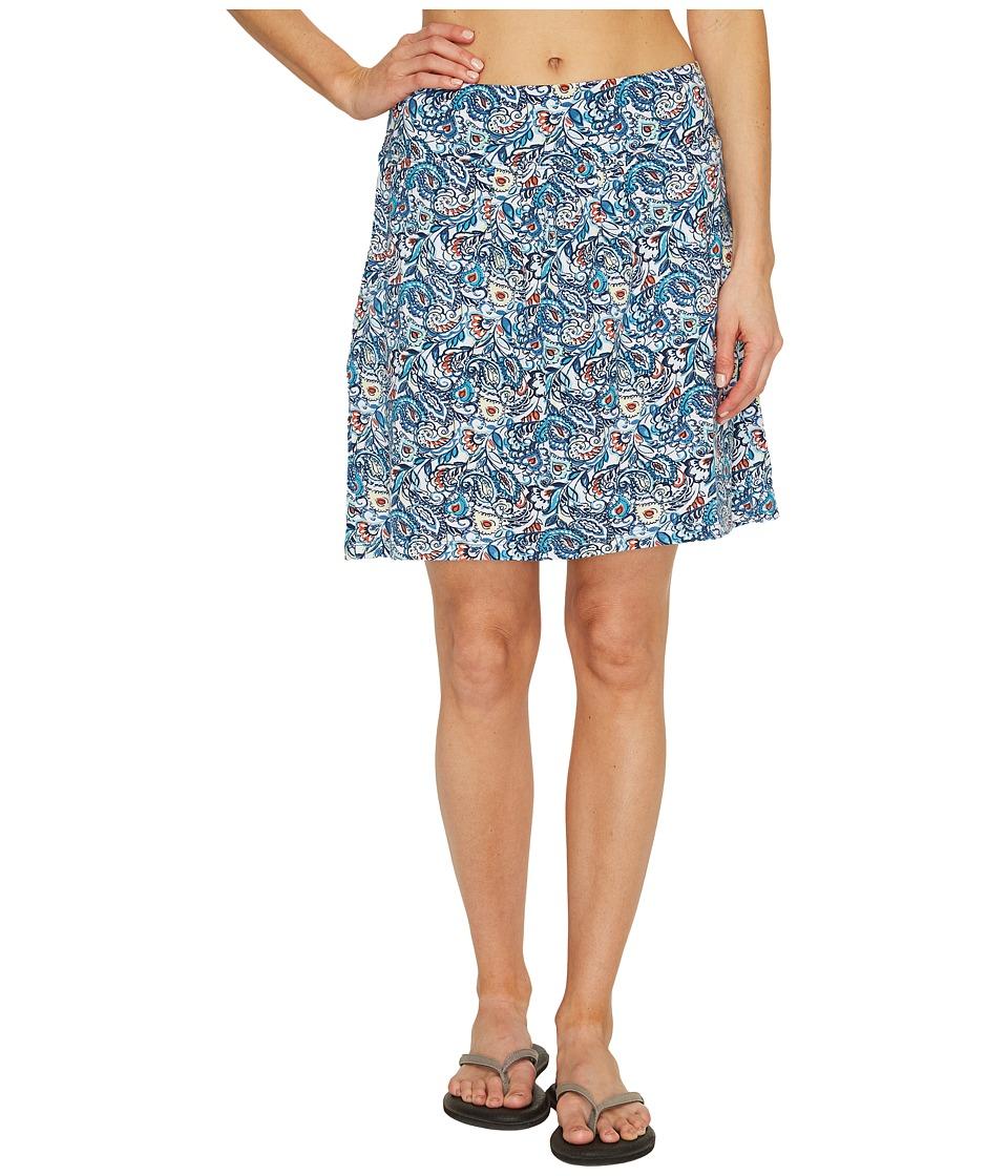 Royal Robbins - Essential Tencel(r) Tapestry Pocket Skirt (Reservoir) Women's Skirt