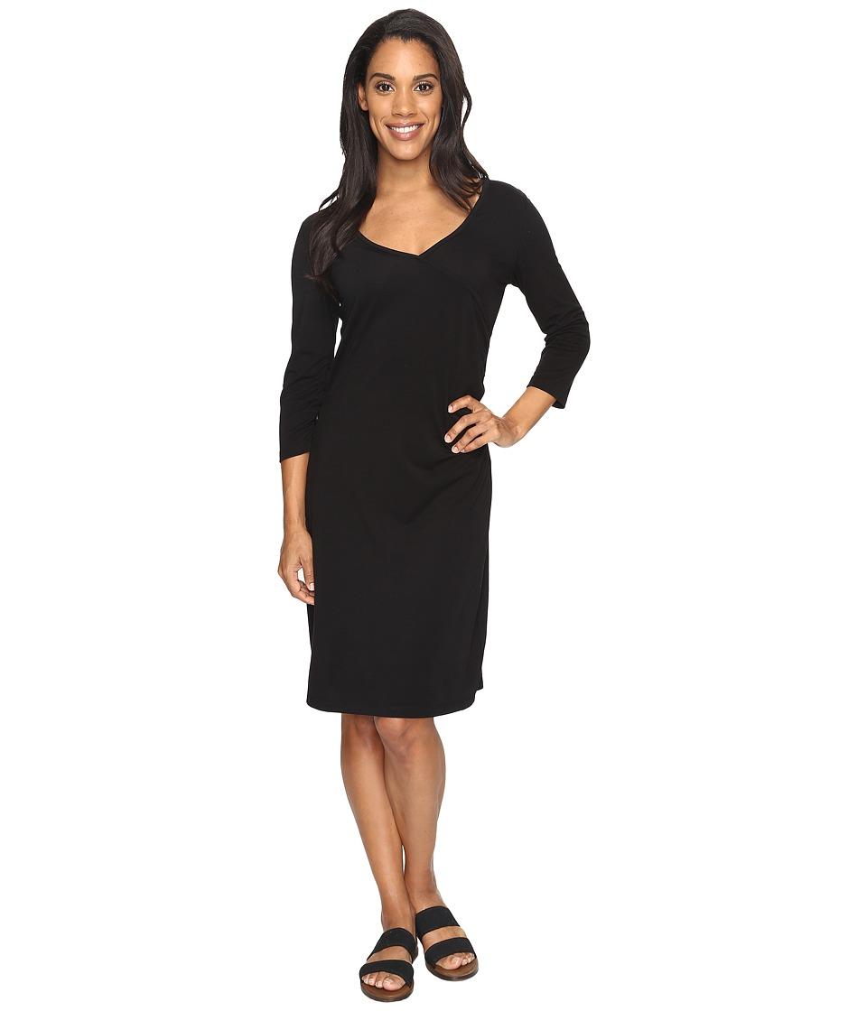 Royal Robbins Essential Tencel(r) Monroe Dress (Jet Black) Women