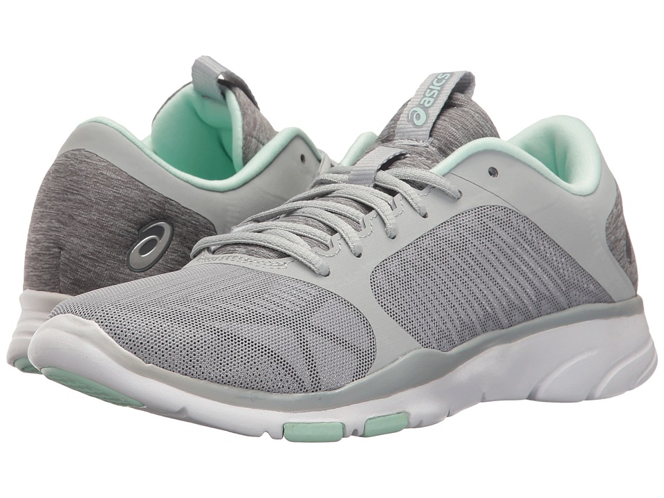 ASICS - Gel-Fit Tempo 3 (Mid Grey/Silver/Bay) Women's Cross Training Shoes