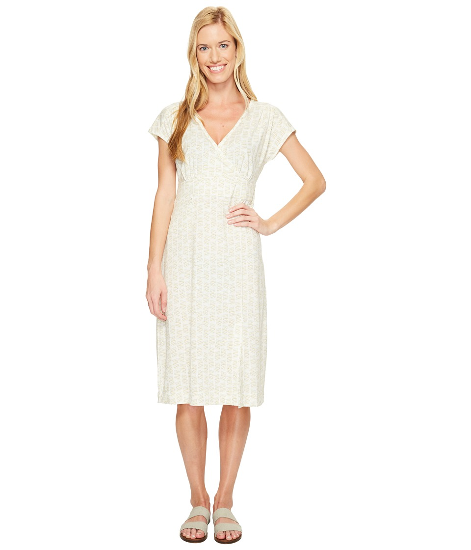 Royal Robbins Essential Tencel(r) Dash Dress (Creme) Women