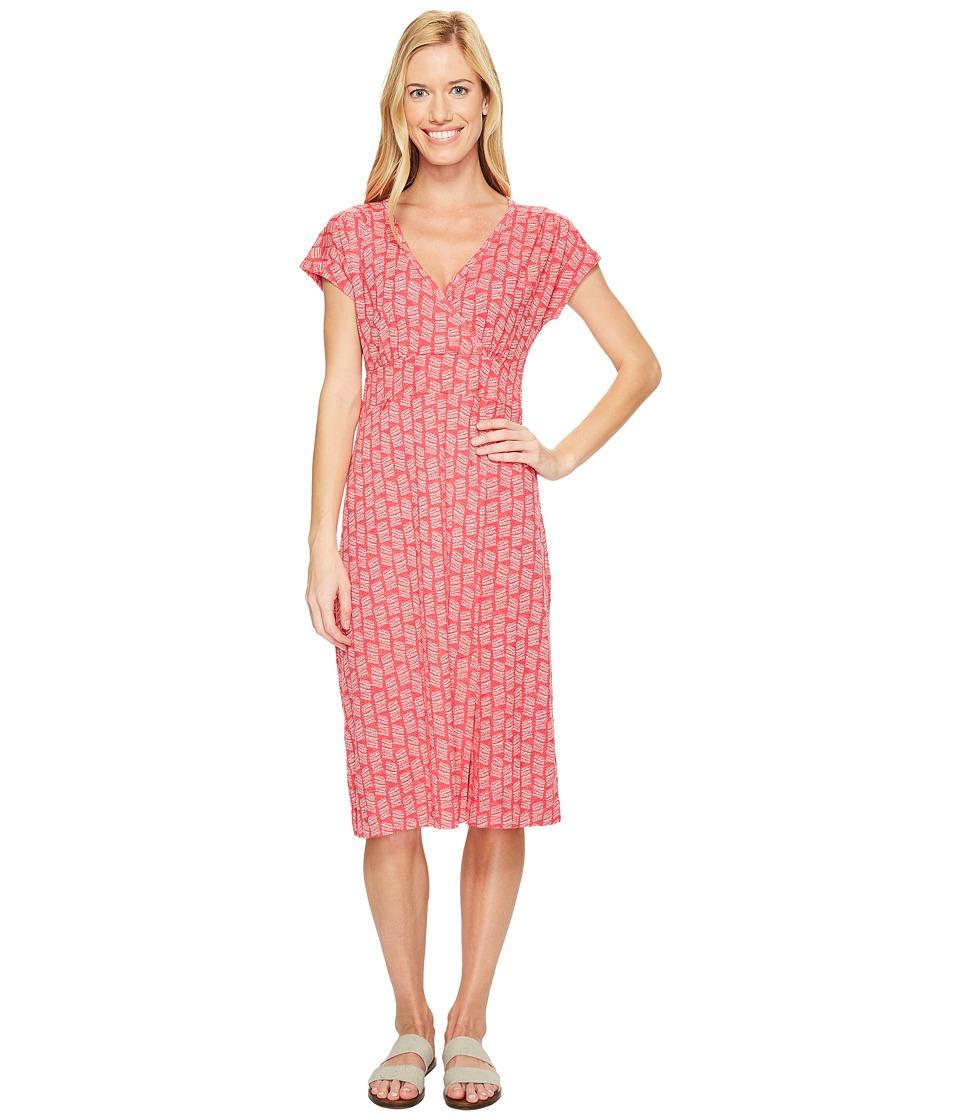 Royal Robbins - Essential Tencel(r) Dash Dress (Punch) Women's Dress