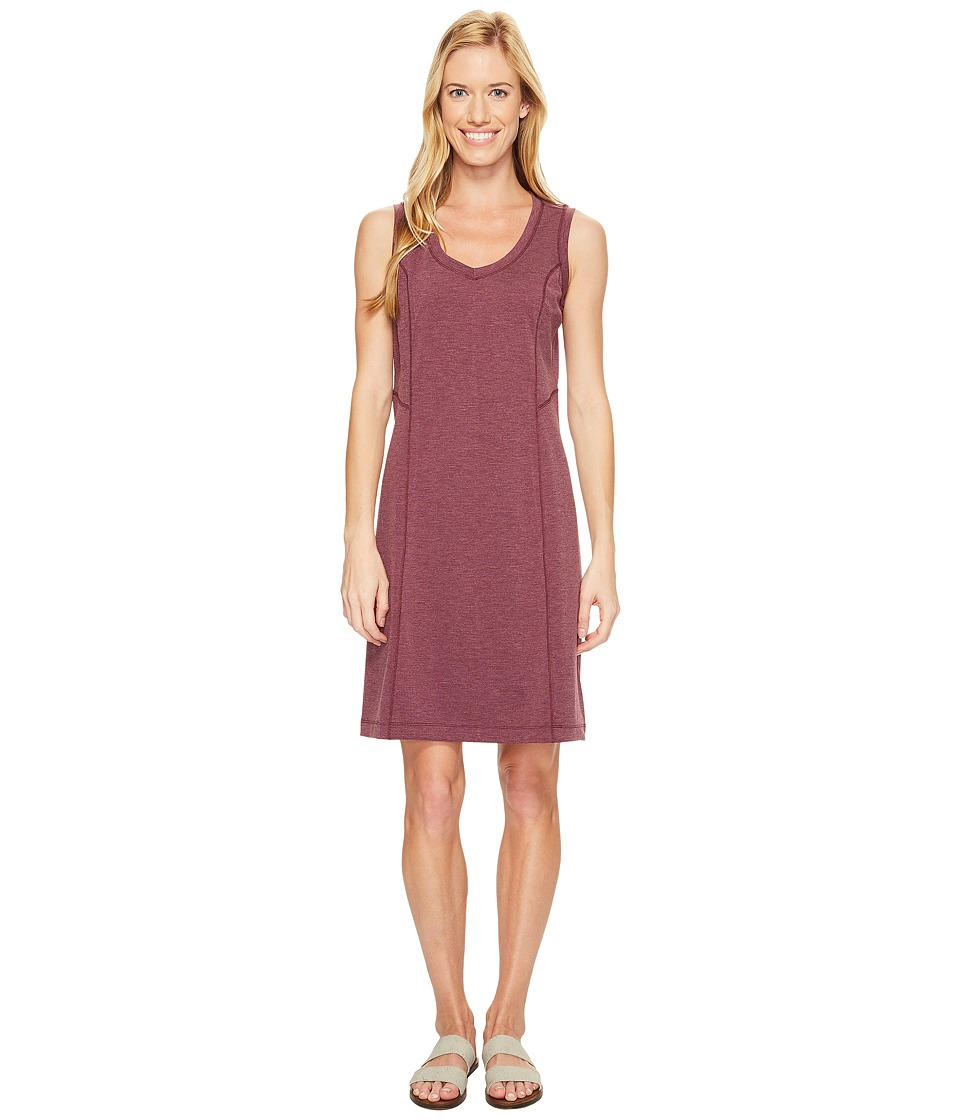 Royal Robbins - Metro Melange Shift Dress (Plum Wine) Women's Dress
