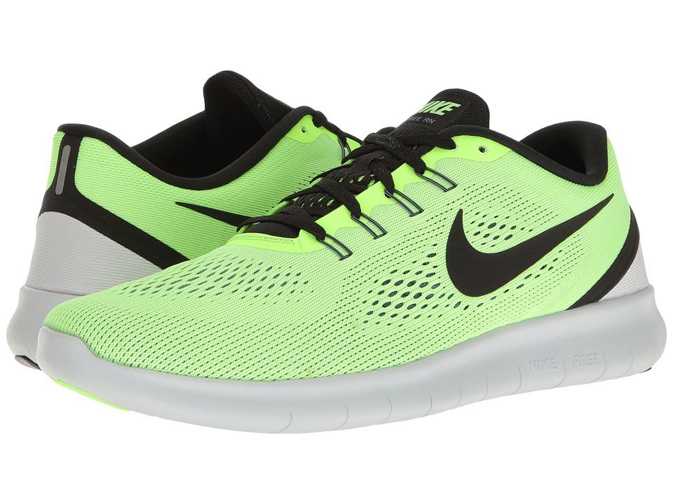 Nike Free RN (Ghost Green/Black/Blue Moon) Men