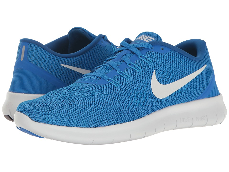 Nike - Free RN (Soar/Pure Platinum/Blue Glow/Team Royal) Men's Running Shoes