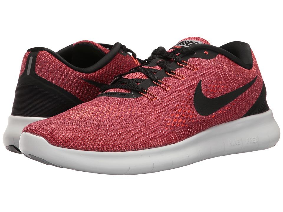 Nike - Free RN (Hyper Orange/Black/Ocean Fog/Wolf Grey) Men's Running Shoes