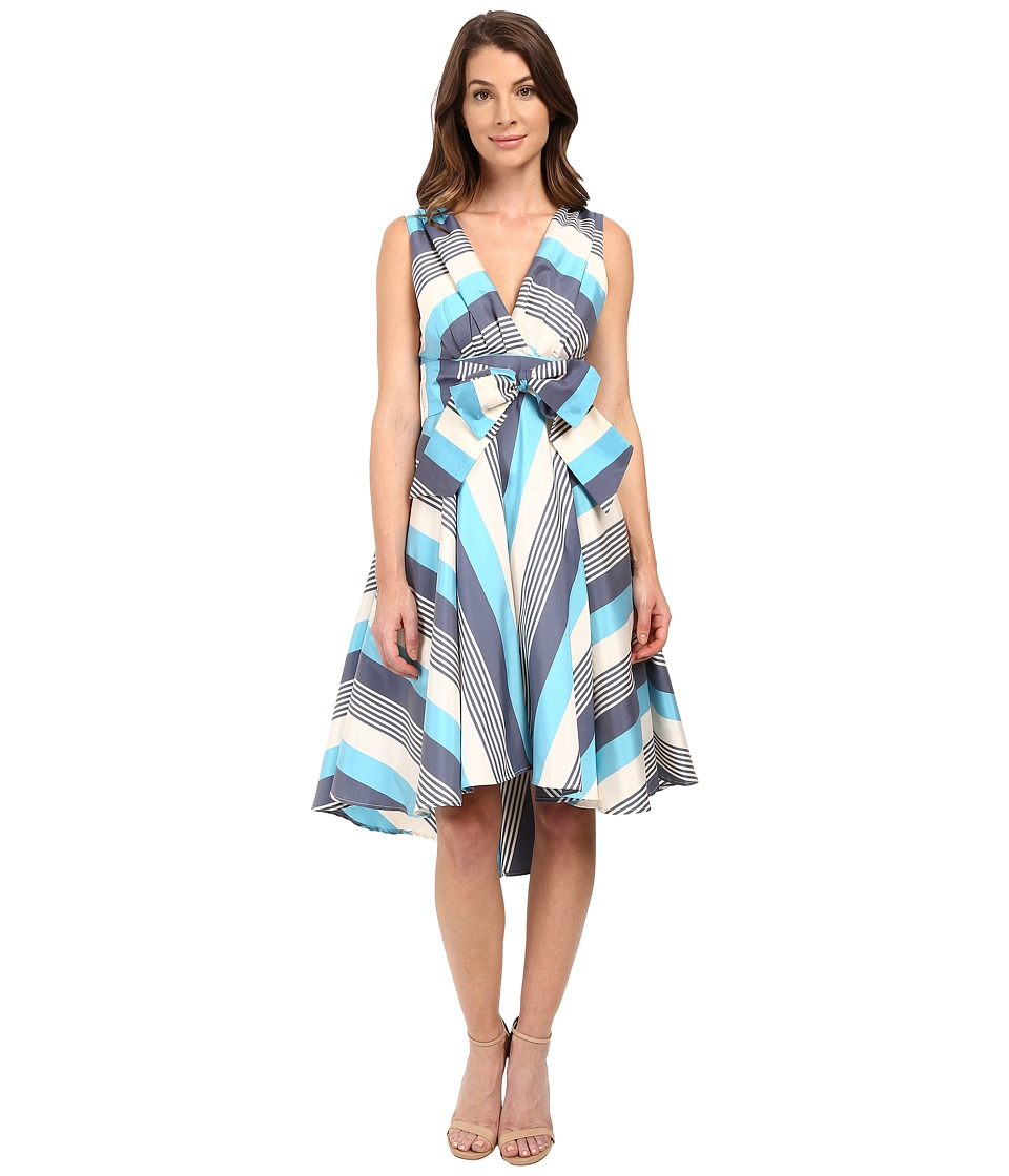 Eva by Eva Franco - Libby Dress (Blue/Black) Women's Dress