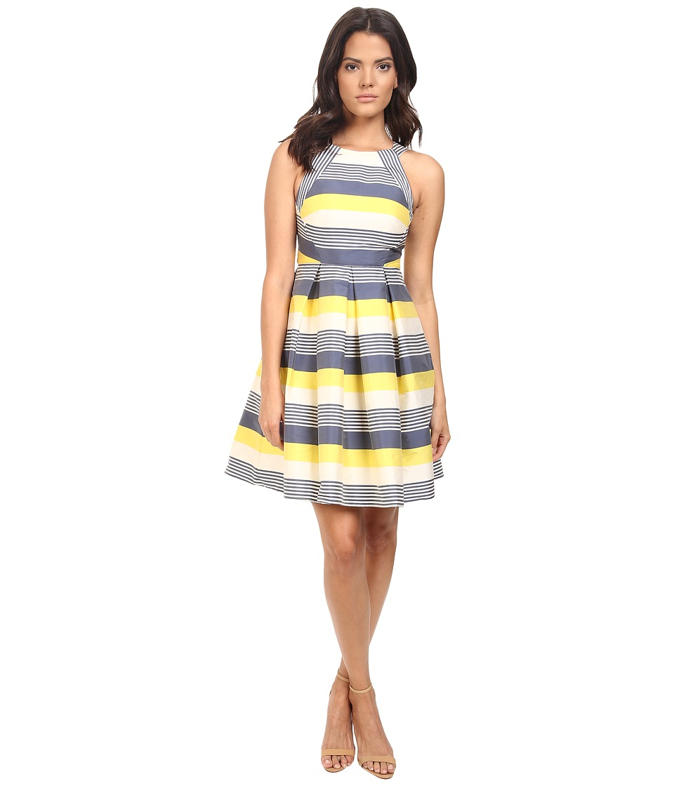 Eva by Eva Franco - Madie Dress (Yellow/Blue) Women's Dress