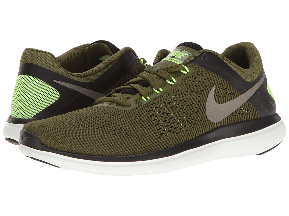 Nike - Flex 2016 RN (Legion Green/Metallic Pewter/Black) Men's Running Shoes