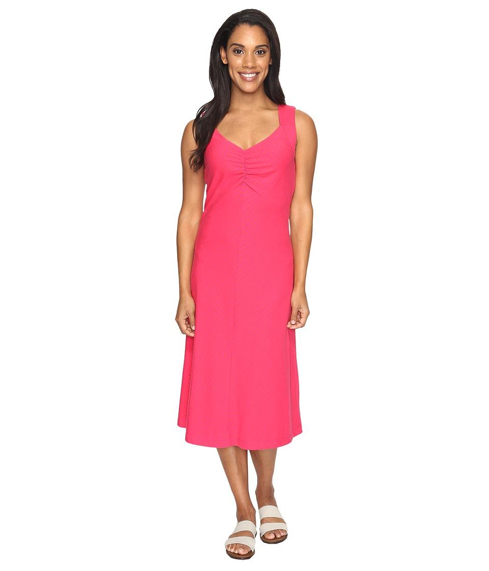 Royal Robbins - Active Essential Stripe Dress (Punch) Women's Dress
