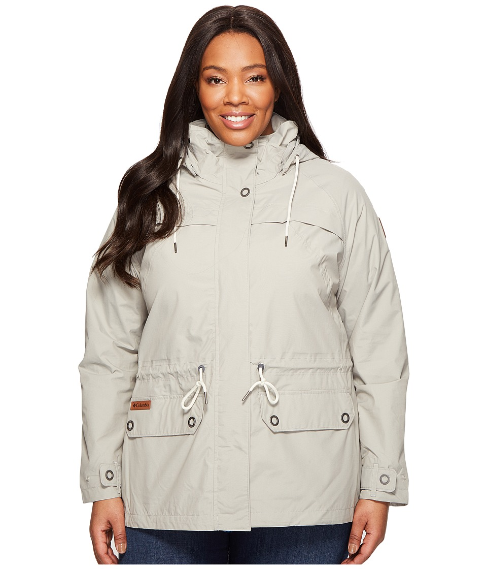 Columbia - Plus Size Remoteness Jacket (Flint Grey) Women's Coat