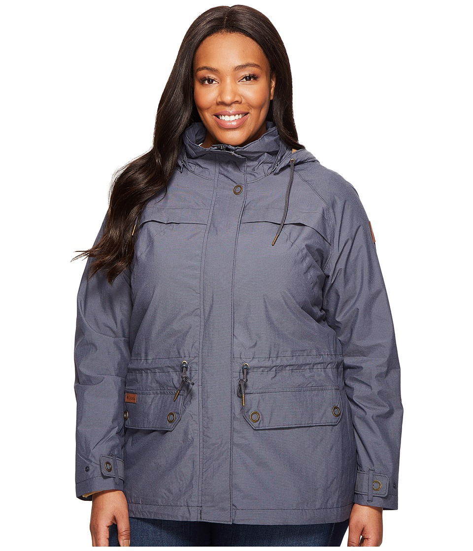 Columbia - Plus Size Remoteness Jacket (India Ink) Women's Coat
