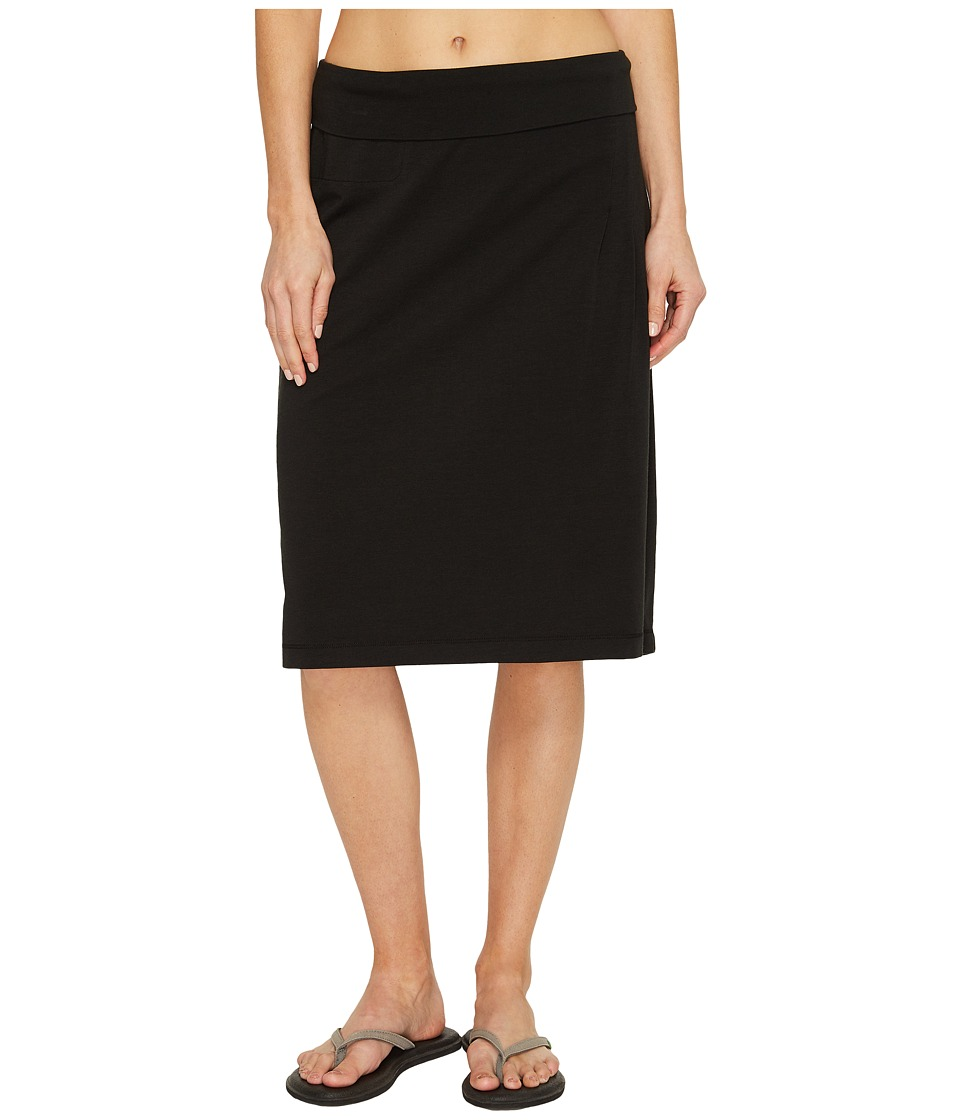 Royal Robbins - Active Essential Skirt (Jet Black) Women's Skirt