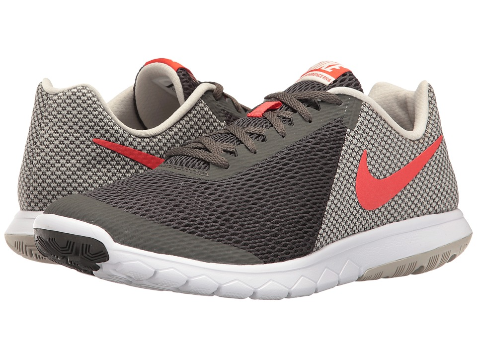 Nike - Flex Experience RN 6 (Midnight Fog/Max Orange/Light Bone/White) Men's Running Shoes