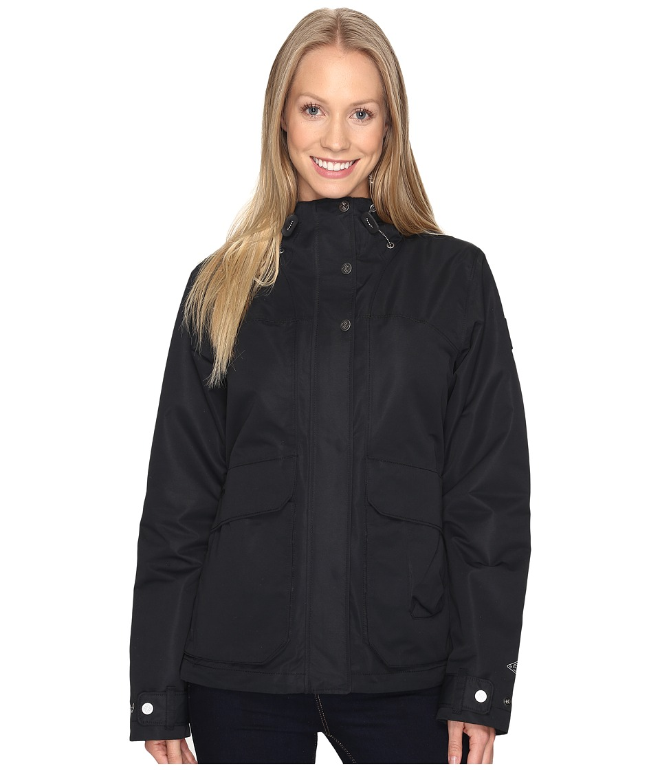 Columbia - South Canyon Hooded Jacket (Black) Women's Coat