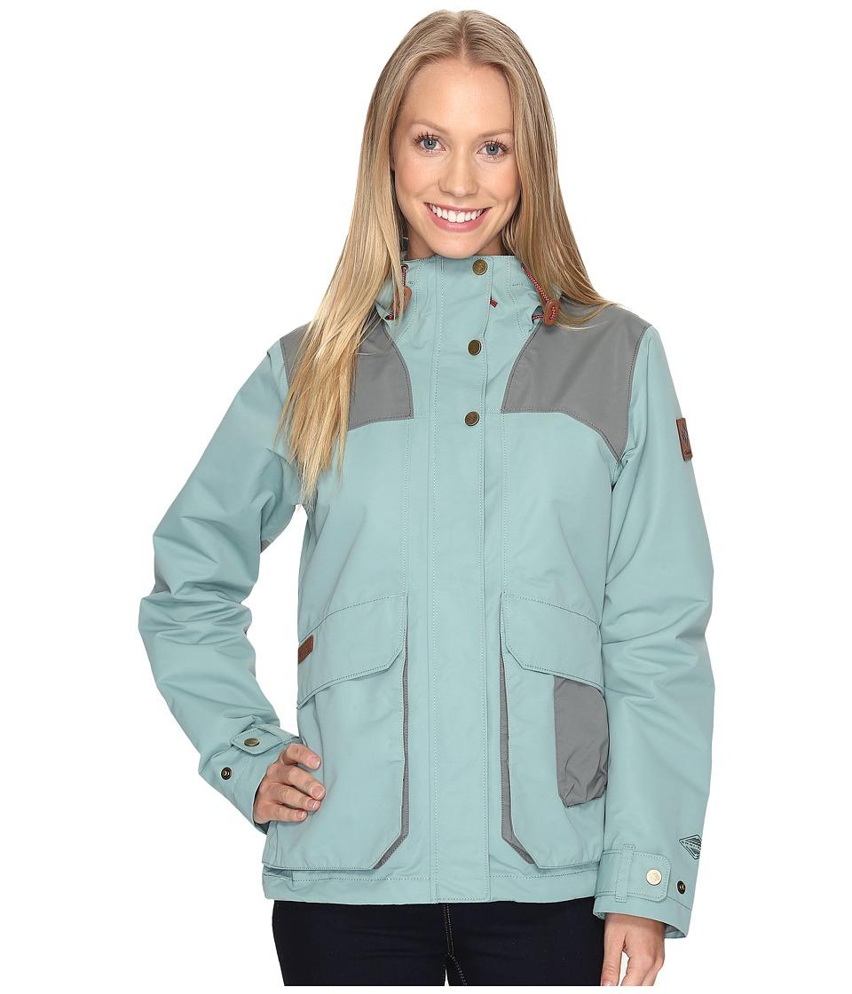 Columbia South Canyon Hooded Jacket (Dusty Green/Sedona Sage) Women